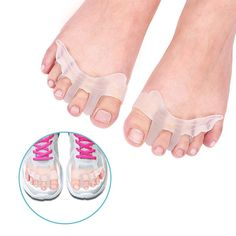 From Doact Gel Toe Stretchers Spacer Hammer Toe Straightener Toe Separator Protector Bunion Aid Splint For Relief Pain From Bunions And Tired Achy Feet For Women Men 1 Pair Gel Zehen, Gel Toe Separators, Bunion Relief, Gel Toes, Hammer Toe, Vintage Makeup, Feet Care, Fitness Fashion, Health
