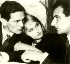 Pier Paolo Pasolini - Laura Betti - Goffredo Parise - 1961 Disney Xd, Disney Marvel, Sony, The Brothers Karamazov, Pier Paolo Pasolini, Roland Barthes, 21st Century Fox, John Malkovich, Cinema Film