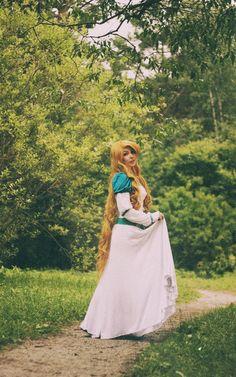 Not Disney, but beautifully similar:  Princess Swan by KikoLondon.deviantart.com on @deviantART
