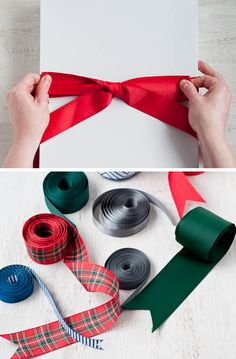 How to tie a perfect bow. (Time to get wrapping!)