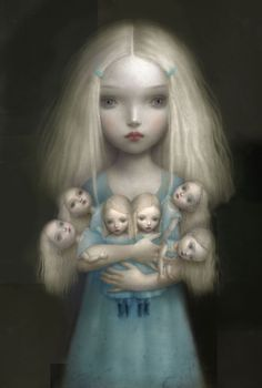 Illustration by Nicoletta Ceccoli