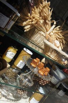Parisian bakery window  Boulangerie Secco