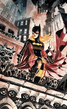Batgirl #15 by Dustin Nguyen