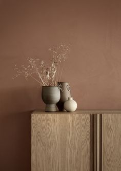 Lady Minerals Revive - Maling til vægge (soveværelse? Home Interior, Interior Styling, Interior Architecture, Interior And Exterior, Interior Decorating, Wood Interior Design, Jotun Lady, Objet Deco Design, Brown Walls