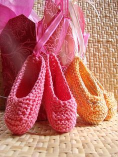 Hand Knit Baby Ballet Booties, aunt Delaney, Amelia needs these
