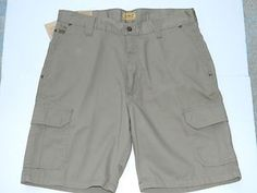 C.E. SCHMIDT WORKWEAR Men's New Shorts Work Cargo Relaxed Fit Mens Size 34 NWT