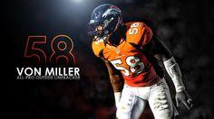 Von Miller Wallpaper by DenverSportsWalls on @DeviantArt