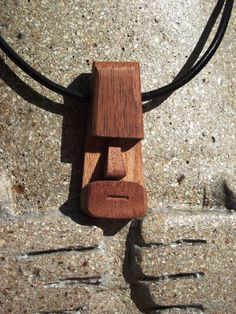 Fun tiki head pendant