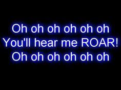 Katy Perry - Roar (Lyrics)