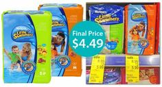 Huggies Little Swimmers, Only $4.49 at Walgreens!