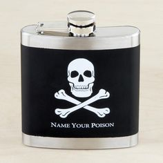One of my favorite discoveries at WorldMarket.com: 'Name Your Poison' Skull