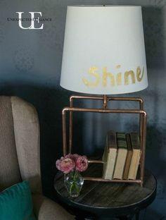 Hometalk :: DIY Copper Lamp