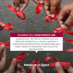 Día Mundial de la Lucha contra el SIDA. Les comparto información importante.