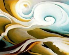 Georgia O'Keeffe. Nature Forms, Gaspé 1932