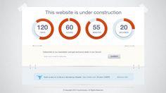 Website Design of Countdown Timer
