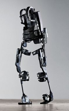 Ekso Bionics began as Berkeley Bionics in 2005, and early military cooperation helped the firm produce the HULC, a militarized version of the exoskeleton designed to help able-bodied soldiers tirelessly lug heavy payloads through rugged terrain.  http://www.eksobionics.com/