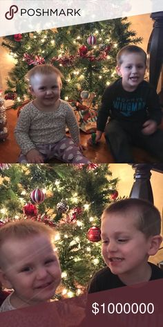 "🎄Happy Holidays🎄Grandchildren🎄 My precious grand-babies Nicholas & Natalie. My closet is named after them ""NICKNAT14"" the""14 was the year Nicholas was born 5-5-14, and Natalie 5-26-14. Blessed beyond measure with these two little ones❤️❤️❤️ Other"