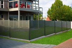 Stratco Ezi-Slat Aluminium Fencing