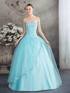 Malkia - Бальное платье Атласная свадебном платье с Аппликации - RUB 13311,90руб.
