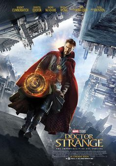 Doctor Strange walks the dimensions on new poster. See it here