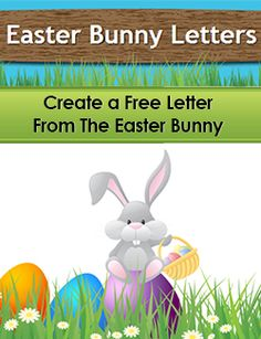 Cute Letter From The Easter Bunny For Christian Families To Use To