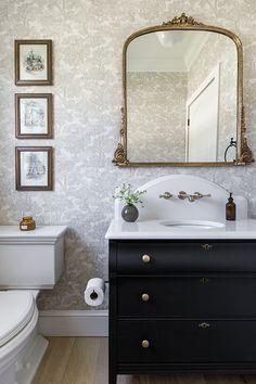Home Interior Loft Heights House Powder Bath.Home Interior Loft Heights House Powder Bath Bathroom Prints, Bathroom Wall Art, Bathroom Humor, Small Bathroom, Bathroom Signs, Master Bathrooms, Bathroom Ideas, Bathroom Mirrors, Bathroom Cabinets
