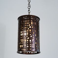 7.90584 Paradiso Pendant Bronze With Frosted Glass Dia 14 H 21 $375.00