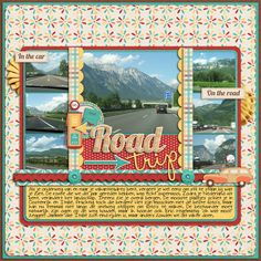 Road Trip - Vacation Layout