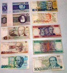 #dinheiro #cruzeiro #cruzado #anos80 #anos70