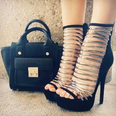 Strap #heels   #heelsfashion   #heelshoes   #highheels   #highheelshoes   #heelpumps   #pumps  #springtime #springfling #springfun #2014spring #springbreak #springfun #funinthesun