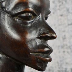 WOMAN of DIGNITY...  wooden AFRICAN sculpture..  by CoolVintage, $65.50