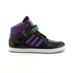 Black & Purple Adidas Sneakers from Journey's