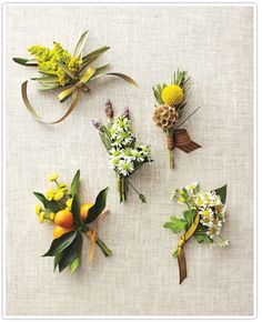 boutonniere inspiration (billy balls & wildflower)