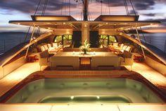Vertigo the largest sailing yacht in the southern hemisphere.