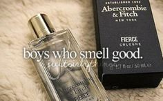 This is wonderful especially when they don't smell like every other douche soaked in axe body spray or curve.