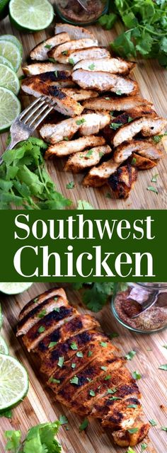 Southwest Chicken - flavorful chicken made easy with a simple dry rub Grilled Chicken Recipes, Chicken Flavors, Baked Chicken Recipes, Southwest Chicken Seasoning Recipe, Roasted Chicken Seasoning Recipe, Simple Chicken Recipes, Dry Rub Recipes, Cooking Recipes, Gastronomia