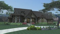 Santo  L'Agnello House Plan - 2256  I love this design with a few changes to make it a little more custom build...