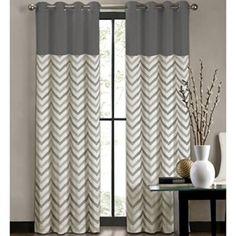Colordrift Tribal Stripe Grommet-Top Curtain Panel - jcpenney.