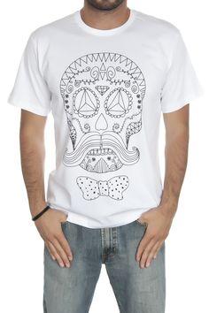 DIOMAND SKULL - Tişört | Tasarım tişört | TROOM
