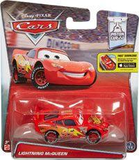 Cars 2016 - #01/14 - Lightning McQueen - Single - Piston Cup