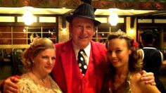 Miss Heartland Swing gets a picture with the King and Queen of the Swinger's Ball 2012 at Willowbrook Ballroom.