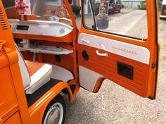 Bright orange looks so fun!