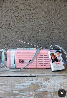 Bubblegum Pink Cassette Player/Recorder/Radio by Sharp I remember! Put it in bathroom floor and crank it up! 90s Childhood, Childhood Memories, New Retro Wave, Oldies But Goodies, I Remember When, Ol Days, Bubblegum Pink, Sweet Memories, The Good Old Days