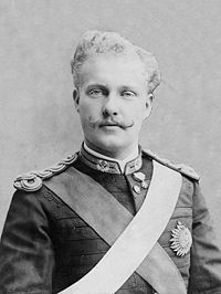 Prince Royal of portugal, D. Carlos in (future King Carlos I of Portugal). Bornt 1863 and was murdered together with his older son in Son of Luis I and Maria Pia of Savoy. He married Amelie of Orleans, History Of Portugal, Spain And Portugal, My King, King Queen, Portuguese Royal Family, Roi Charles, King Charles, Friedrich Ii, Royalty
