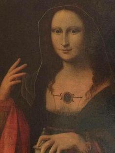 """Vente samedi 19 avril 2014 par Chalot et Associés à Fécamp - Bernardino LUINI (1480/1490 - 1532) suite de, """"Marie - Madeleine"""", sa main gauche est posée sur le vase d'onguent avec lequel elle enduira le corps du Christ.  Estimation : 3 800 € - 4 500 €"""