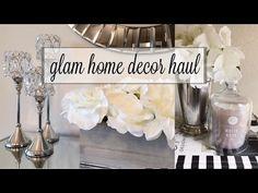Fall Glam Home Decor Haul 2016 w/ Christy Mel