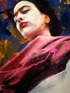 Frida Kahlo Lita Cabellut