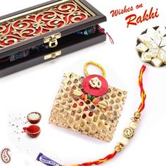 Picture of Limited Edition Premium Rakhi Gift Box combo