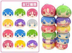 AmiAmi [Character & Hobby Shop] | Free! - Omanjuu Niginigi Mascot 12Pack BOX