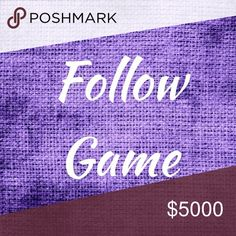 5K Follower Goal Hey Poshers! Please play my Follow Game. It's easy! *Like this listing *Follow everyone else that likes this listing *Please share *Please tag your PFF's 💜💜💜💜Thank You💜💜💜💜 Dresses